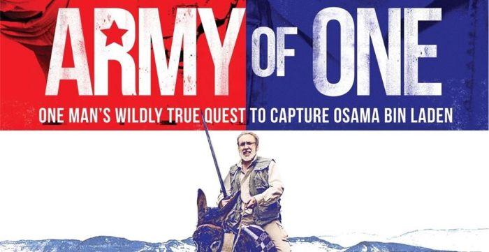 filme de terrorismo - army for one