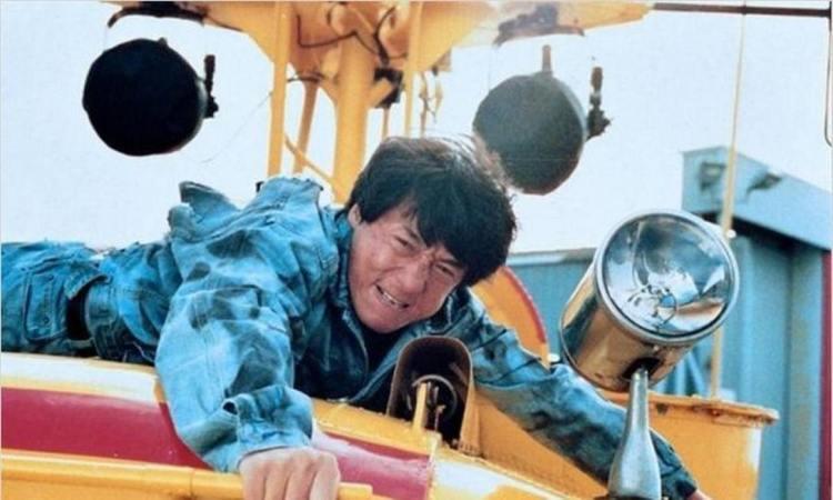 cena principal do filme arrebentando em Nova York de  Jackie Chan