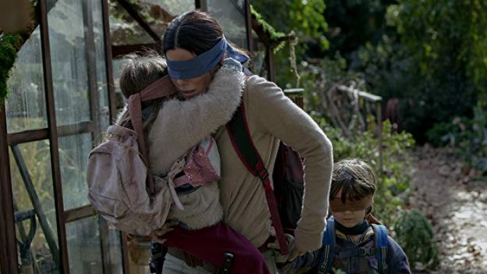 Filme Bird Box - capa do filme
