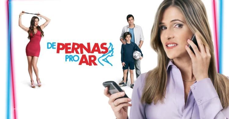 capa do filme de pernas pro ar com os atores principais - Ingrid Guimarães