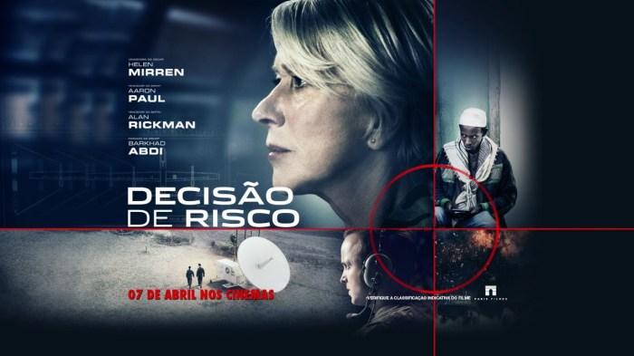 filme de terrorismo - decisão de risco -