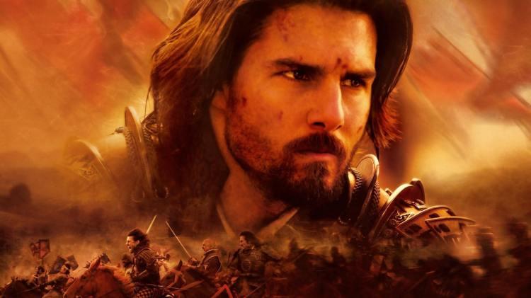 ator protagonista do filme o último samurai - capa do filme de ação