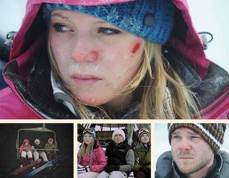 cenas principais do filme panico na neve