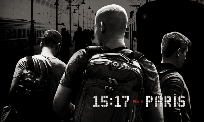 filme de terrorismo - trem para Paris