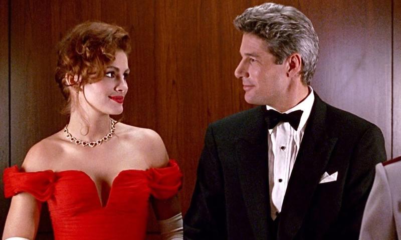 cena do filme uma linda mulher de 1990