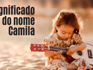 foto escrita significado do nome camila