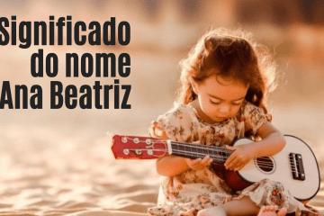 foto escrita significado do nome Ana Beatriz