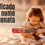 foto escrita significado do nome renata