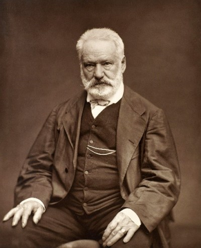 foto do famoso Victor Hugo