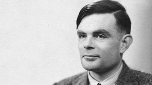 foto do famoso Alan Turing