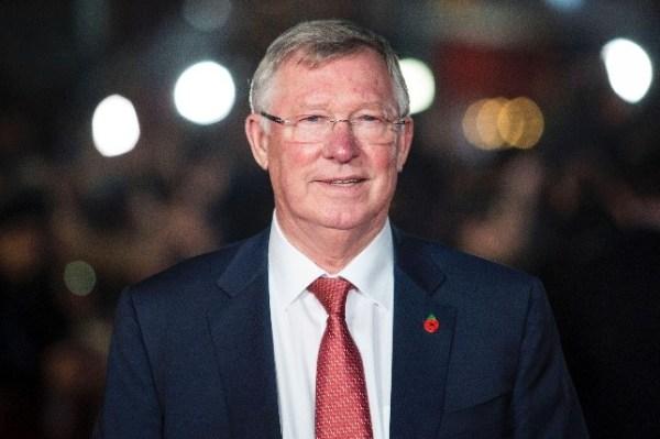 foto do famoso Alex Ferguson