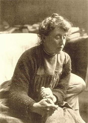 foto da famosa Evelyn De Morgan