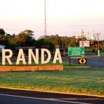 Trevo da cidade de Juranda no Paraná