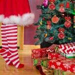 natal árvores e presentes natalinos de dezembro
