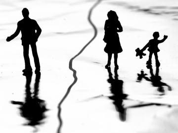 imagem representando a ingratidão em uma família