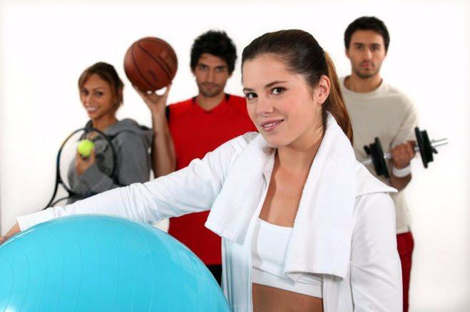 forskjellige spørsmål om sport