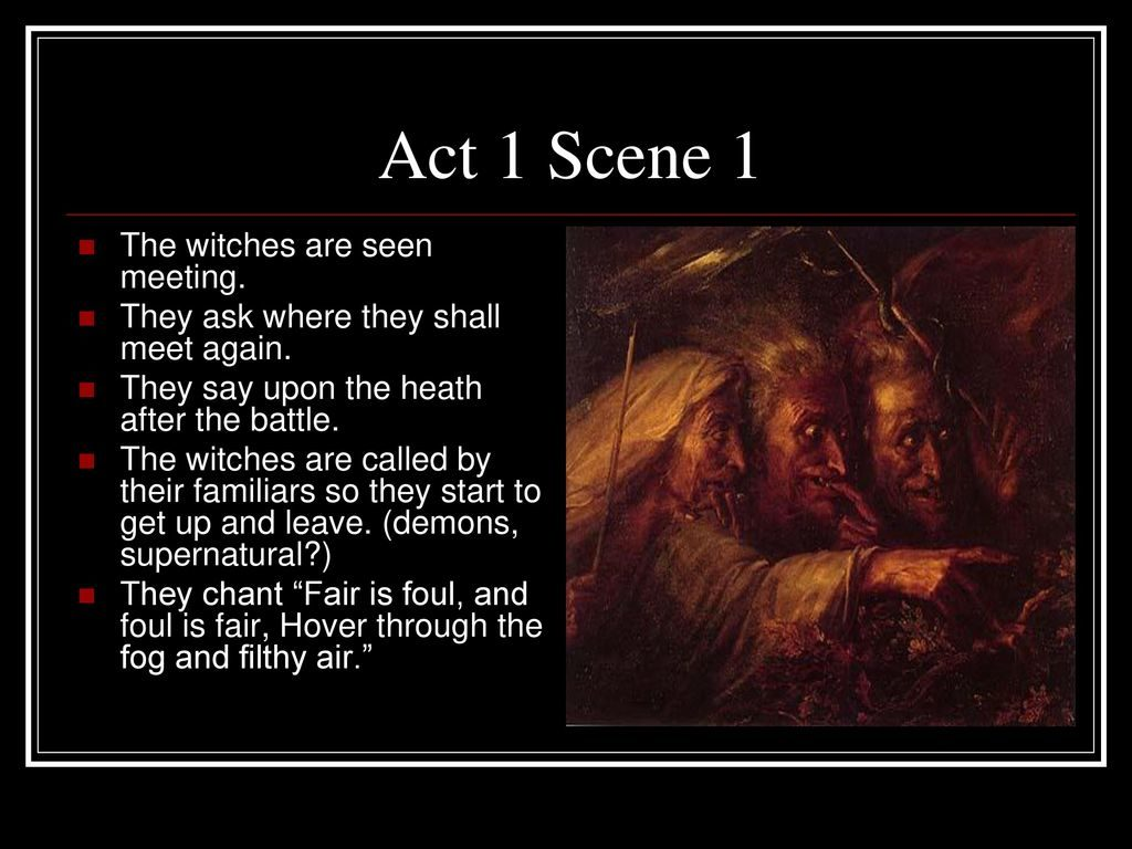 The Tragedy Of Macbeth Act 1 Selection Test Answer Key