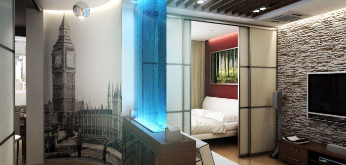 дизайн квартиры однокомнатной 5