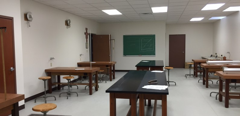 QU Renovates Physics Lab at North Campus