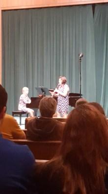 Laura Kammerer-Piano, Dr. Christine Damm-Clarinet