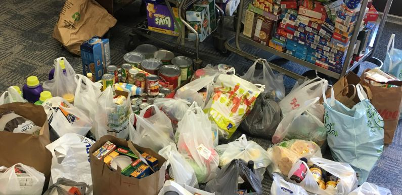 QU Counts Food Drive Success at Day of Service