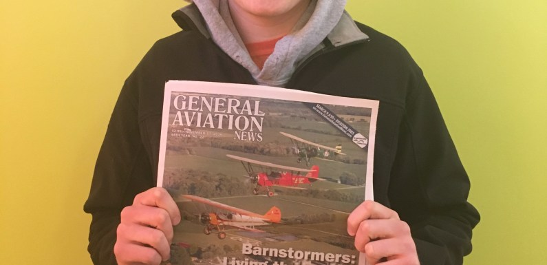 QU Student Makes Cover of Aviation Magazine