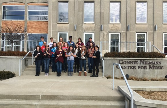 Clarinet Day Strikes a Note With Students