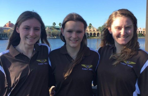 QU Aviators fly to Florida to Network