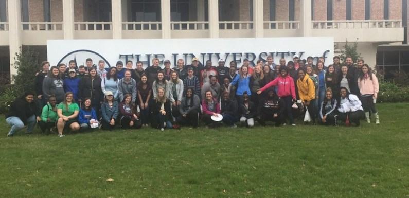 Quincy University Cru Serves Close to Home