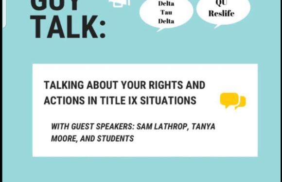 Guy Talk panel explains Title IX investigations