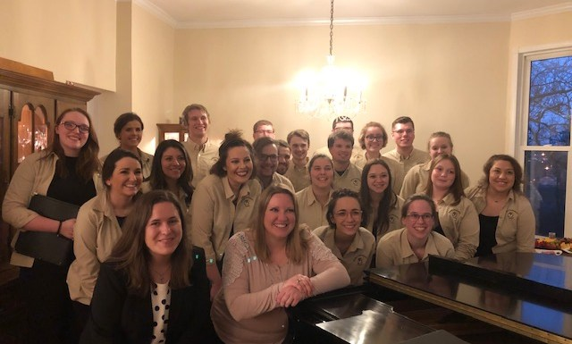 Quincy University Choirs Recruit in St. Louis