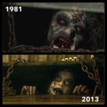 La primera pelicula de Evil Dead y su remake