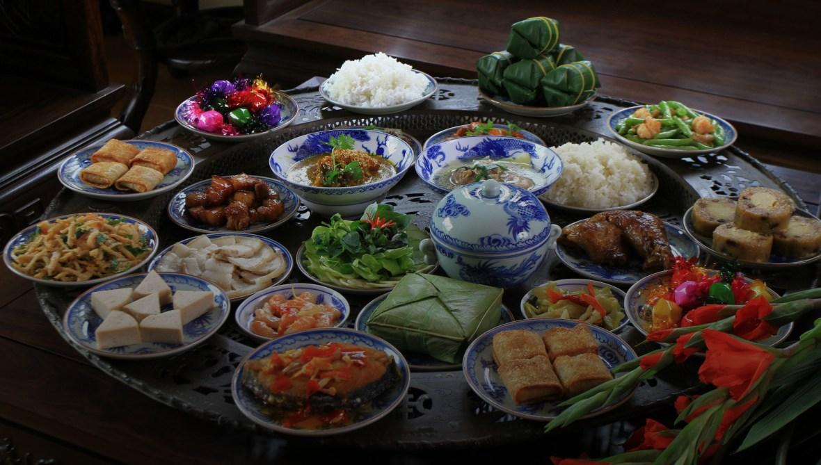 Các món ăn truyền thống Tết Nguyên Đán