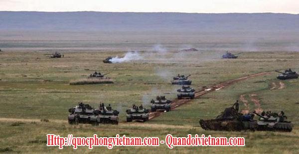 Khu huấn luyện Châu Nhật Hòa của quân đội Trung Quốc - Chinese People's Liberation Army (PLA) Zhurihe Joint Training Base