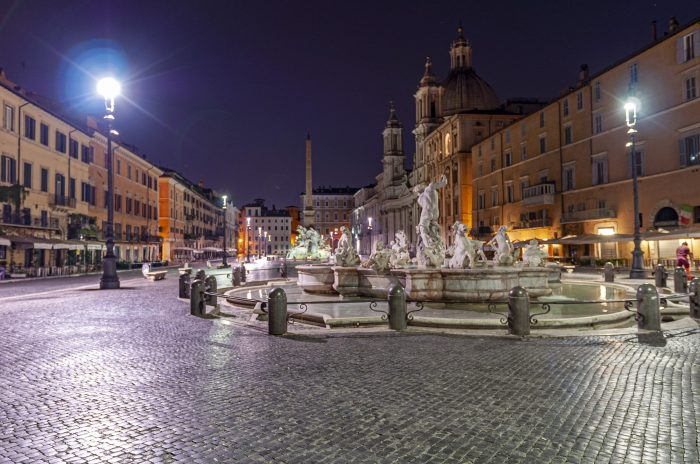 Piazza Navona Roma - a nice walk from QuodLibet