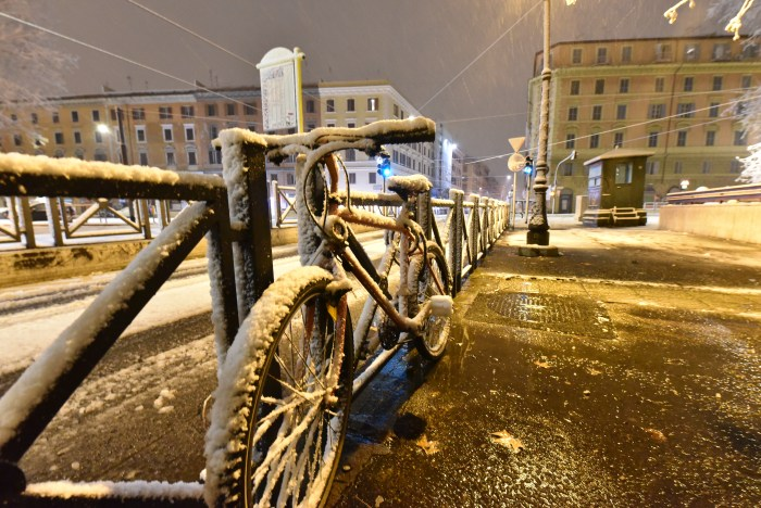 Rome with Snow - by Quodlibet bed and breakfast