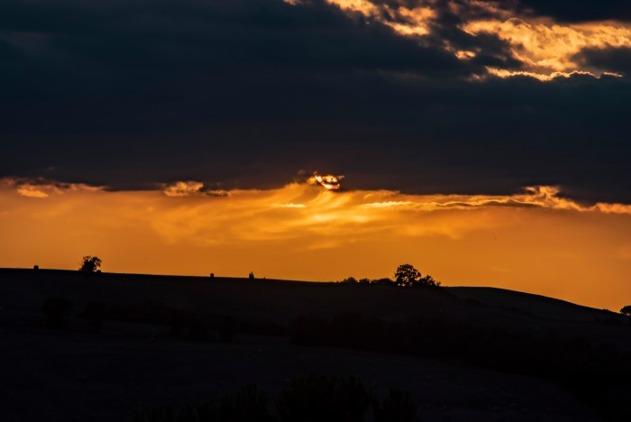 Val d'Orcia at Sunset