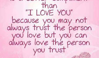 I trust you