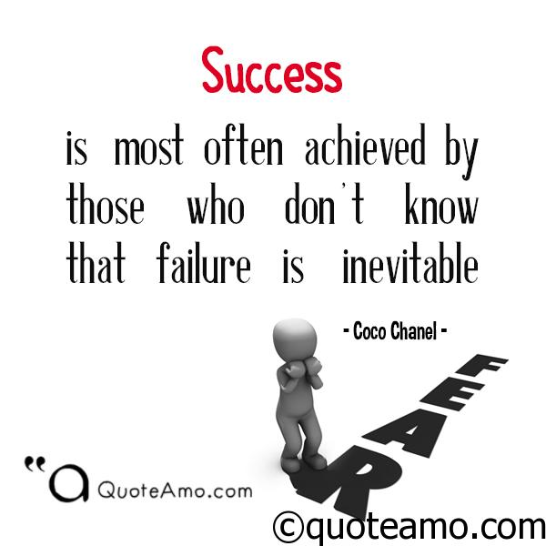 Inspirational Quotes About Failure: Best Quotes And Sayings About Fear Of Failure That Will
