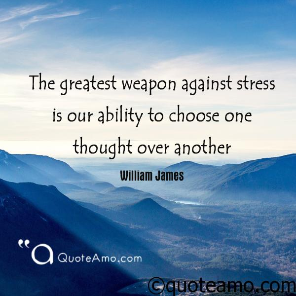 quote about stress management