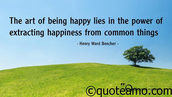 Art of being HAPPY
