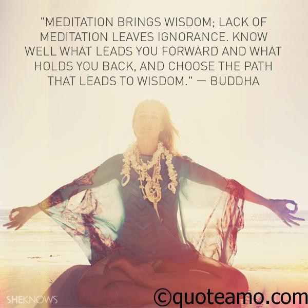 Meditation Quotes and Sayings