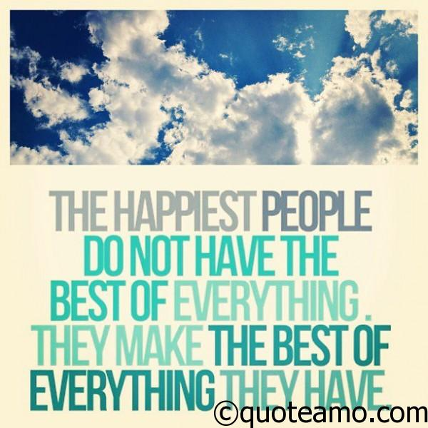 Quotes about Happy People