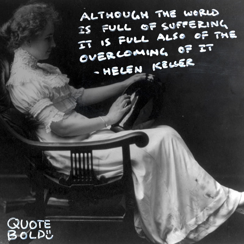 motivational tuesday quotes helen keller