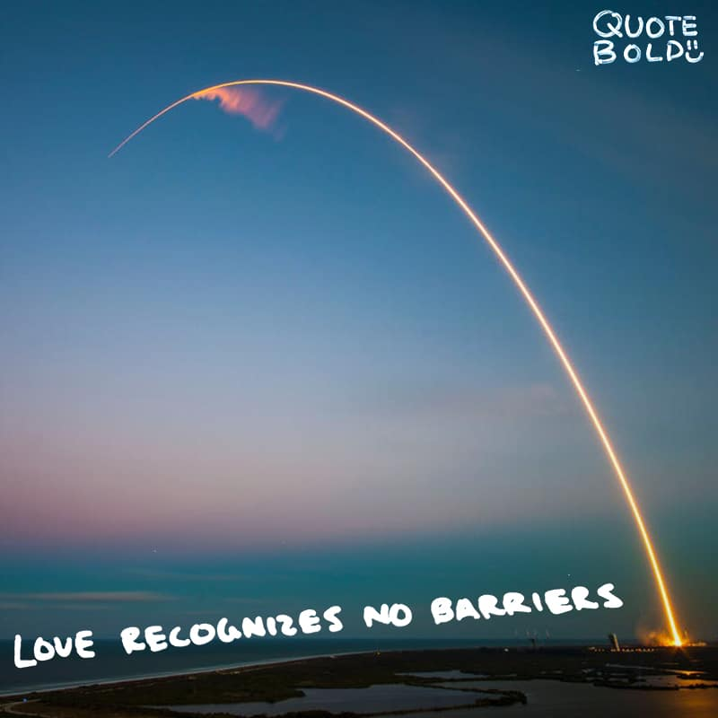 love quotes no barriers
