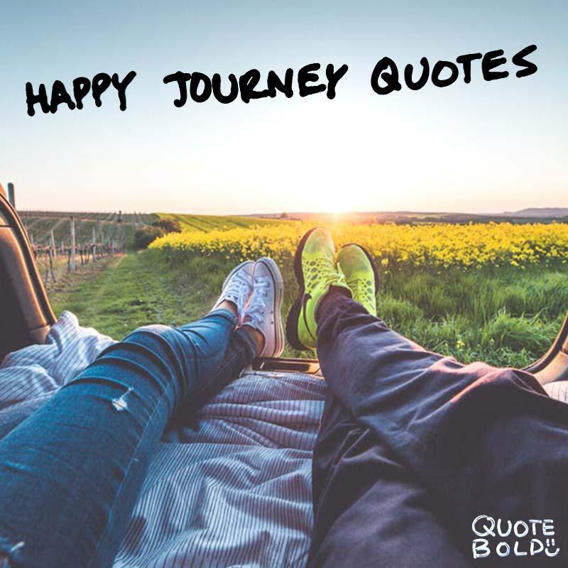 happy journey quotes - main image