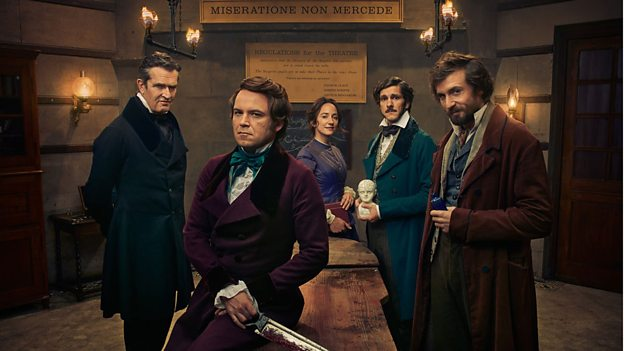 quacks bbc - Dr Wyatt / David Bamber - Tone