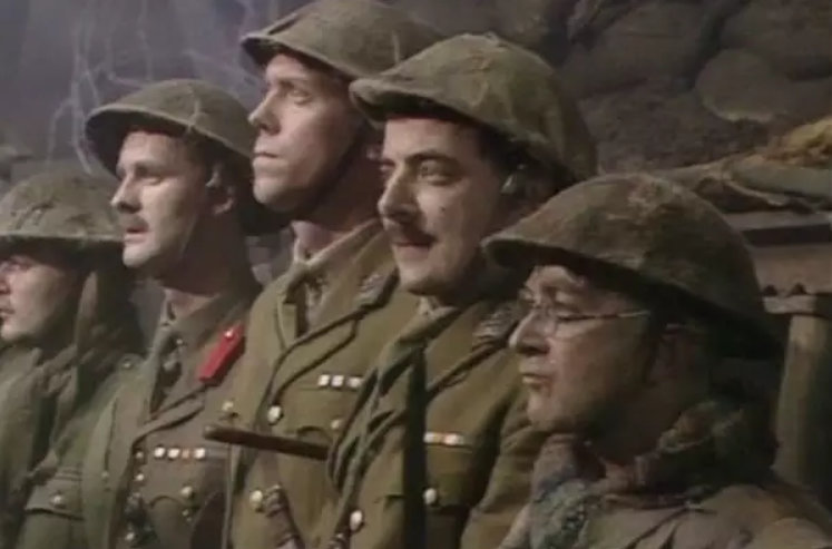 hugh laurie blackadder goes forth im scared - Hugh Laurie - Lieutenant George - I'm Scared - Quote