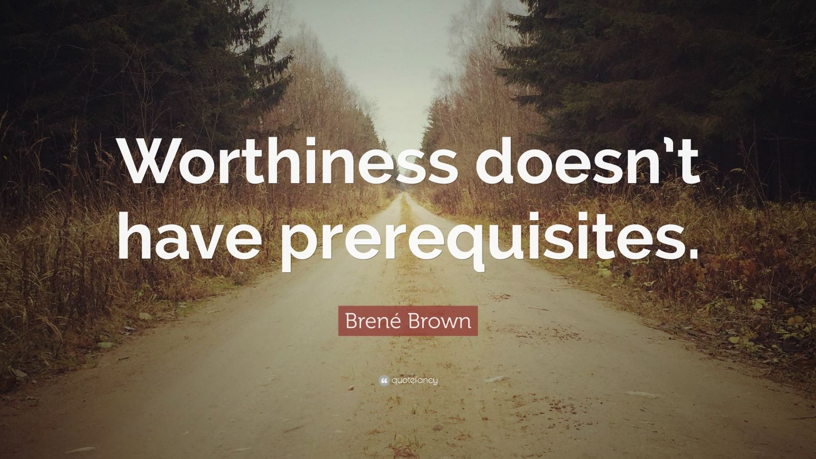 Brene Brown Quote Worthiness Doesn T Have Prerequisites