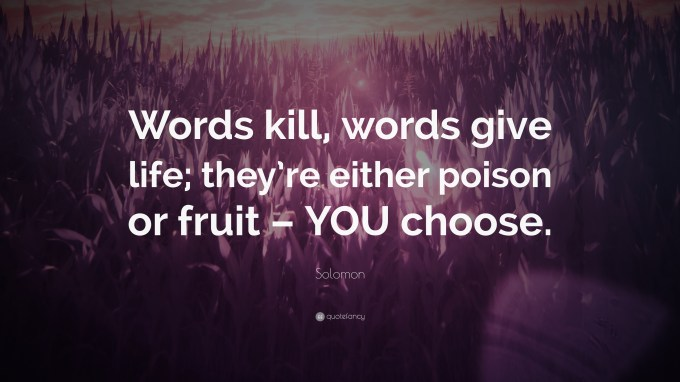 Image result for WORDS ARE LIFE